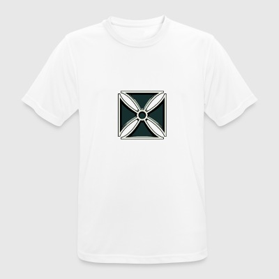Iron Cross - Iron Cross - Andningsaktiv T-shirt herr