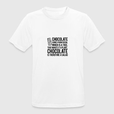 Chocolate Salad - Men's Breathable T-Shirt