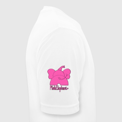 Pink Elephant - Men's Breathable T-Shirt
