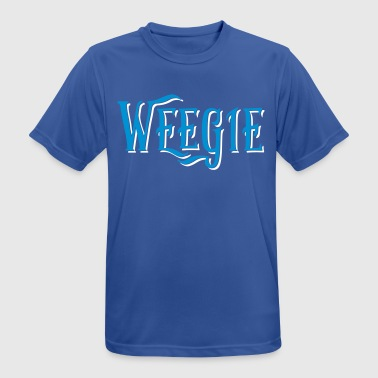 Weegie, Glasgow Slang - Men's Breathable T-Shirt