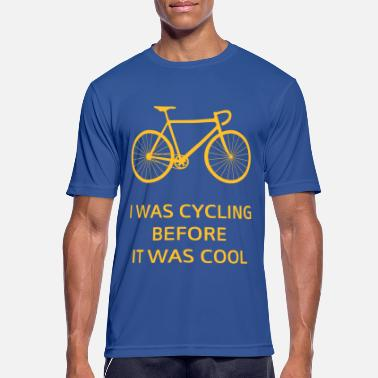 I Was Cycling Before It Was Cool - Sports T-shirt mænd