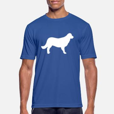 Retriever Flat Coated Retriever - Men's Sport T-Shirt