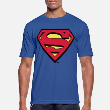 Superman Logo S-Shield - Männer Sport T-Shirt