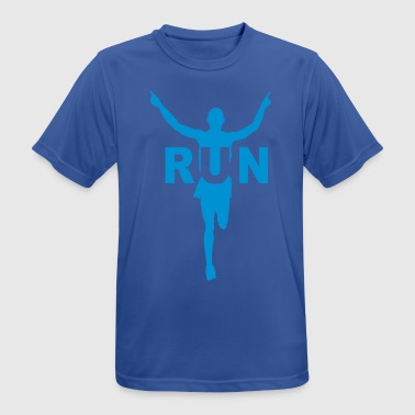 Run course à pied - T-shirt respirant Homme