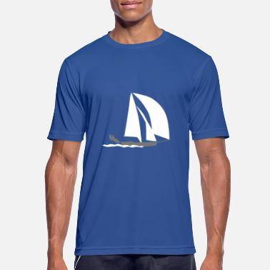 T Shirt Marine SegelbootYacht Sailing Evolution