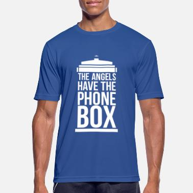 Angels the angels have the phone box - Männer Sport T-Shirt