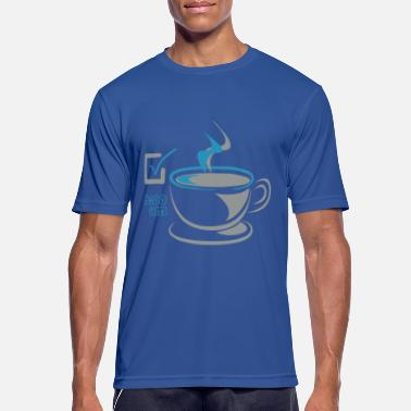Early Risers Coffee CHECK for early risers - Men's Sport T-Shirt