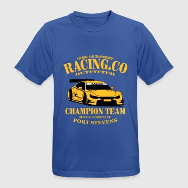 Touring-Car Racing - Camiseta hombre transpirable