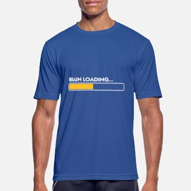 Loading Patience Brain Loading - Men's Breathable T-Shirt