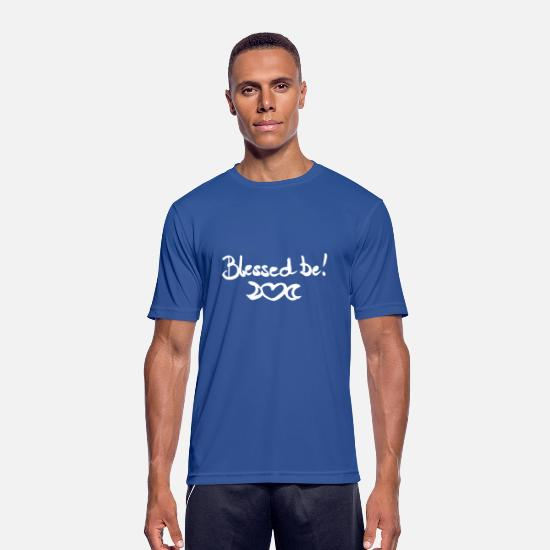 Love T-Shirts - Blessed Be! - Men's Sport T-Shirt royal blue