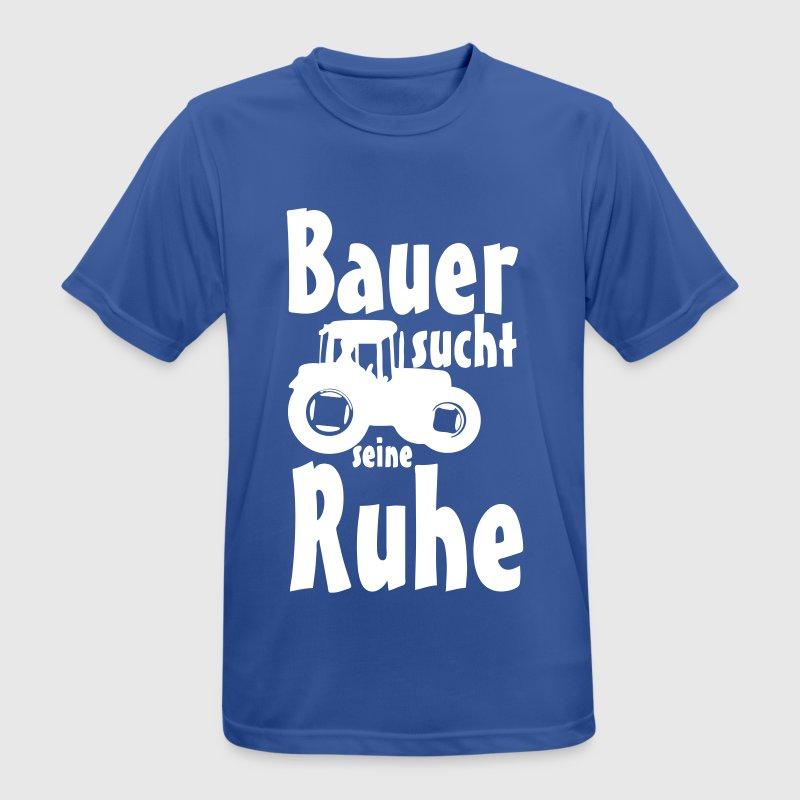 bauer sucht ruhe bauernhof lustig geschenk spruch von doctorsdarling spreadshirt. Black Bedroom Furniture Sets. Home Design Ideas