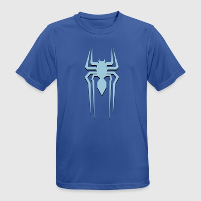 spider-man blue - mannen T-shirt ademend