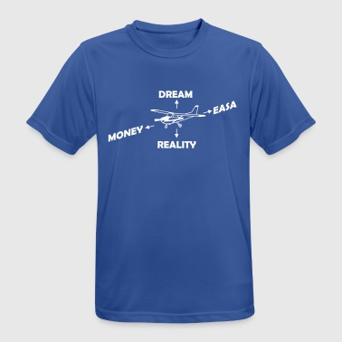 How to Fly My Airplane Gift Pilot - Men's Breathable T-Shirt