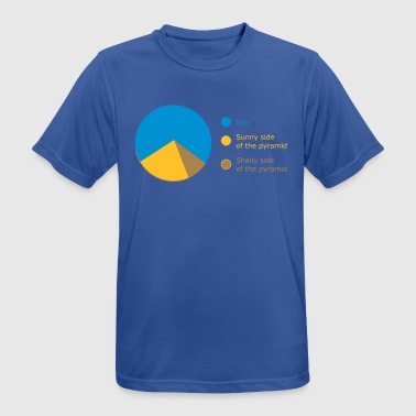 SKY / SUNNY / SHADY - PIE CHART - Men's Breathable T-Shirt