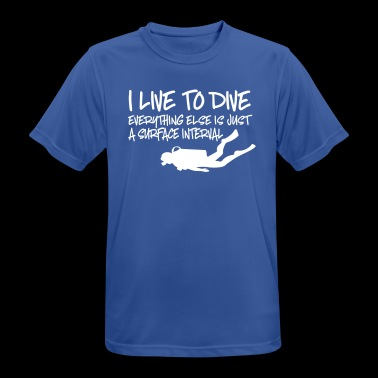dive - Men's Breathable T-Shirt