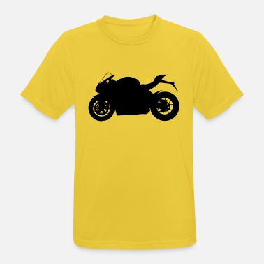 Silhouette sports bike silhouette - Men's Sport T-Shirt