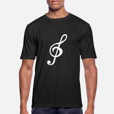 Treble Clef Treble Clef - Men's Sport T-Shirt