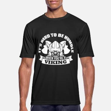 Shield Viking - hard to be humble - T-shirt sport Homme