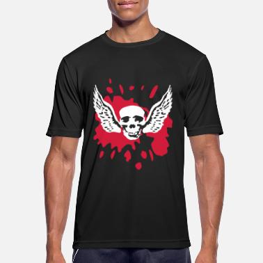 wingskull_092011_b_2c - Men's Sport T-Shirt
