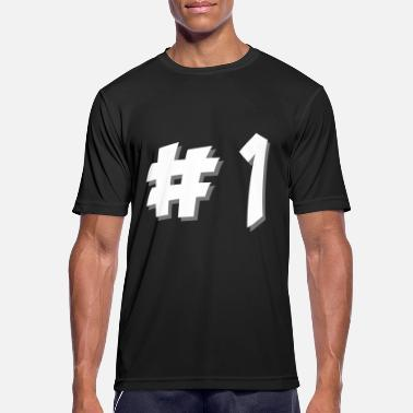 Number One number one - Men's Sport T-Shirt