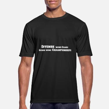 Offense Offense vs. Defense - Sports T-shirt mænd