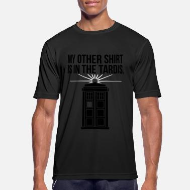 My other shirt is in the Tardis - T-shirt sport Homme