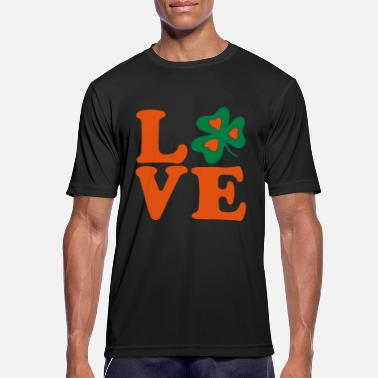 Most Bucket List Languages To Learn People To Meet And Fall In Love Countries To Visit And Travel To ♥ټ☘I Love Irish-Ireland-Happy St Patty's Day☘ټ♥ - Men's Sport T-Shirt