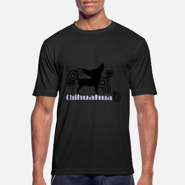 Chihuahua chihuahua © www.dog-power.nl - Men's Sport T-Shirt