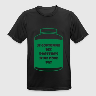 WHEY je consomme - T-shirt respirant Homme