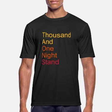 Fabel thousand and one night stand 3colors - Sports T-shirt mænd