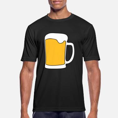 alcohol beer drunk party - Men's Sport T-Shirt