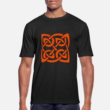 Druid Celtic knot Celtic knot - Men's Sport T-Shirt