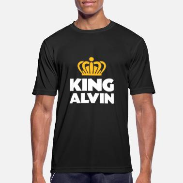 Alvin King alvin name thing crown - Men's Sport T-Shirt