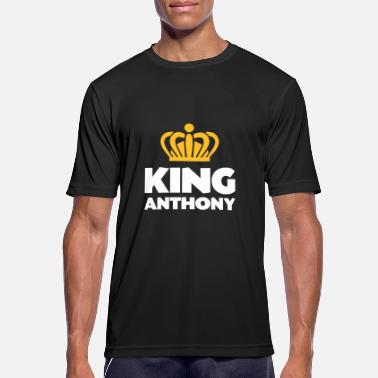 Anthony King anthony name thing crown - Men's Sport T-Shirt