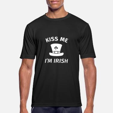 Kiss Me I'm Irish Kiss Me I'm Irish - Sports T-shirt mænd