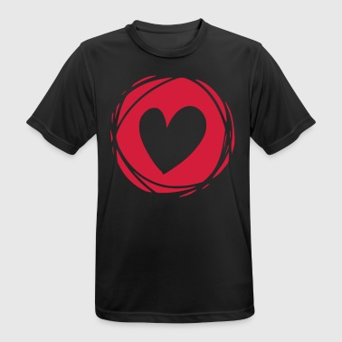 Carnival Heart Love Valentines Day Carnival Carnival Marriage - Men's Breathable T-Shirt