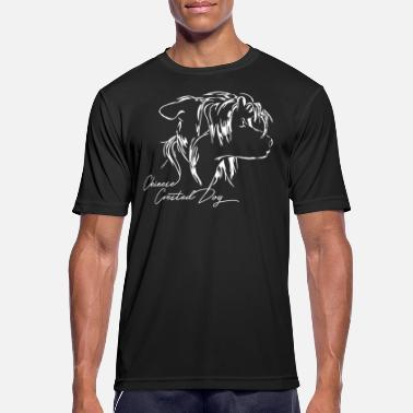 Chinese Crested Dog CHINESE CRESTED DOG - Männer T-Shirt atmungsaktiv