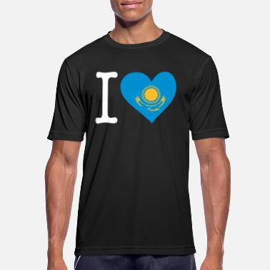 Shymkent I Love Kazakhstan - Men's Breathable T-Shirt