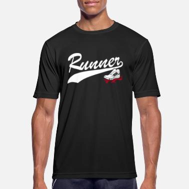 Girl Runner Runner - Men's Breathable T-Shirt