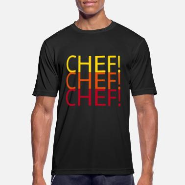 Soy Chef CHEF CHEF CHEF - Camiseta hombre transpirable