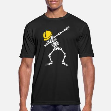 Chantier Dab skeleton dabbing construction worker  enginer - T-shirt respirant Homme