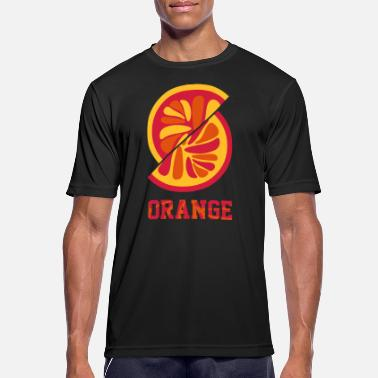Orange orange orange - Männer Sport T-Shirt