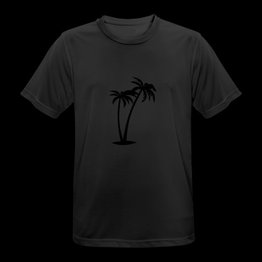 Palm Trees AllroundDesigns - Men's Breathable T-Shirt