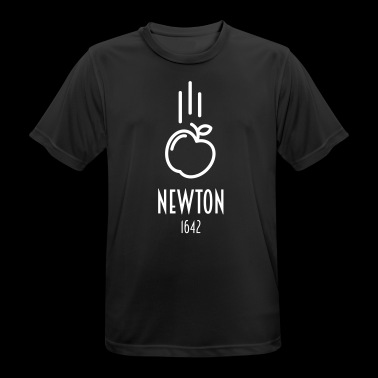 Sir Isaac Newton | beroemde People - mannen T-shirt ademend