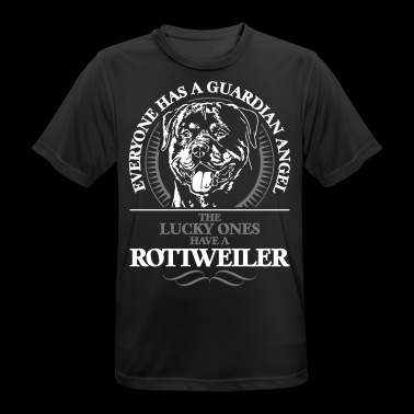 Guardian Angel Rottweiler - Herre T-shirt svedtransporterende