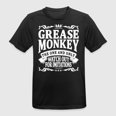 grease monkey the one and only - Men's Breathable T-Shirt