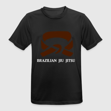 BJJ Brown Belt Clothing - Andningsaktiv T-shirt herr