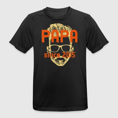 PAPA - since 2015 - Men's Breathable T-Shirt
