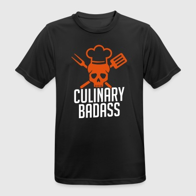 Chef Culinary Badass Chef Humor - Men's Breathable T-Shirt