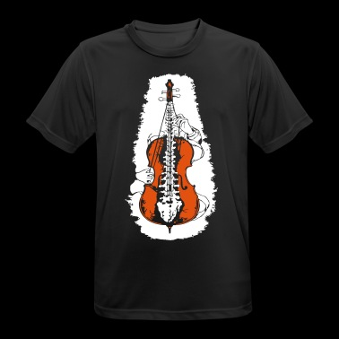 cello - mannen T-shirt ademend